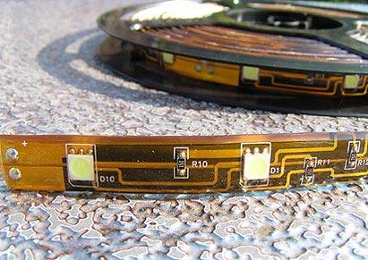 Taśma LED szeroka 12 mm 50 50 W 150 WD