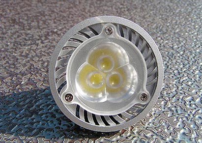 Żarówka MR-16, 3 x 1W High Power, 12V