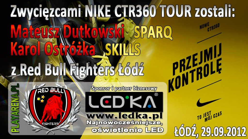 led.ka sponsorem Nike CTR360 Tour