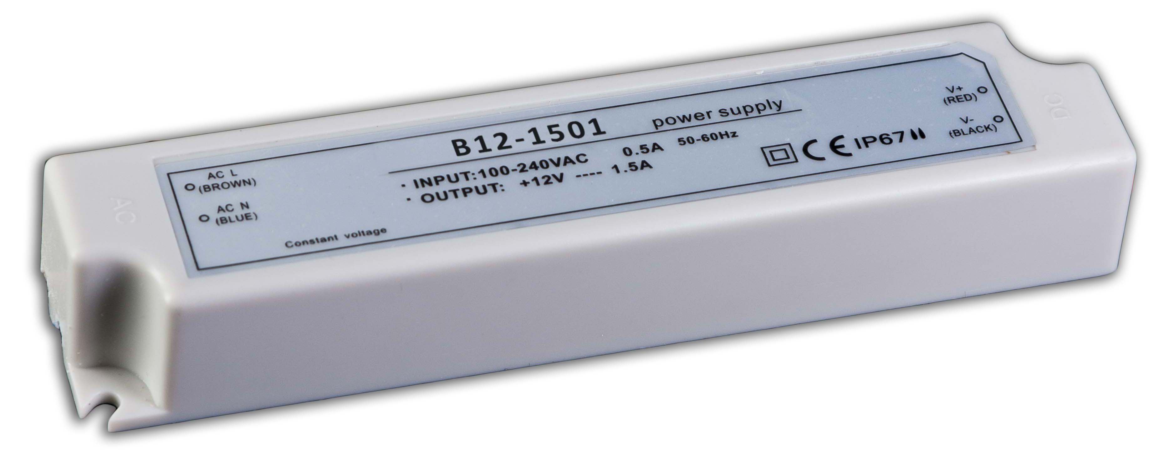 zasilacz hermetyczny 18w IP67
